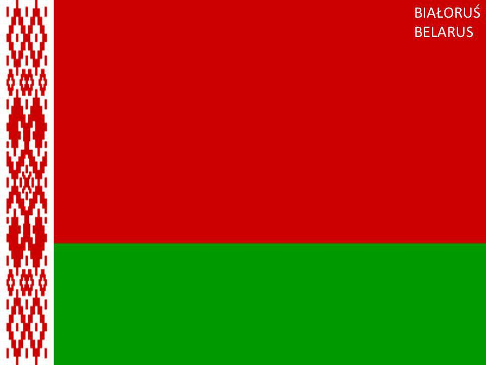 Białoruś BIAŁORUŚ BELARUS