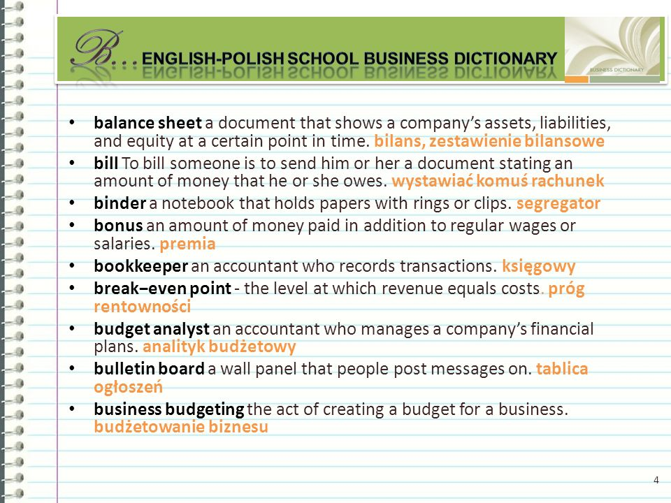 income statement a document that shows how much money an organization gained or lost in a certain period of time.