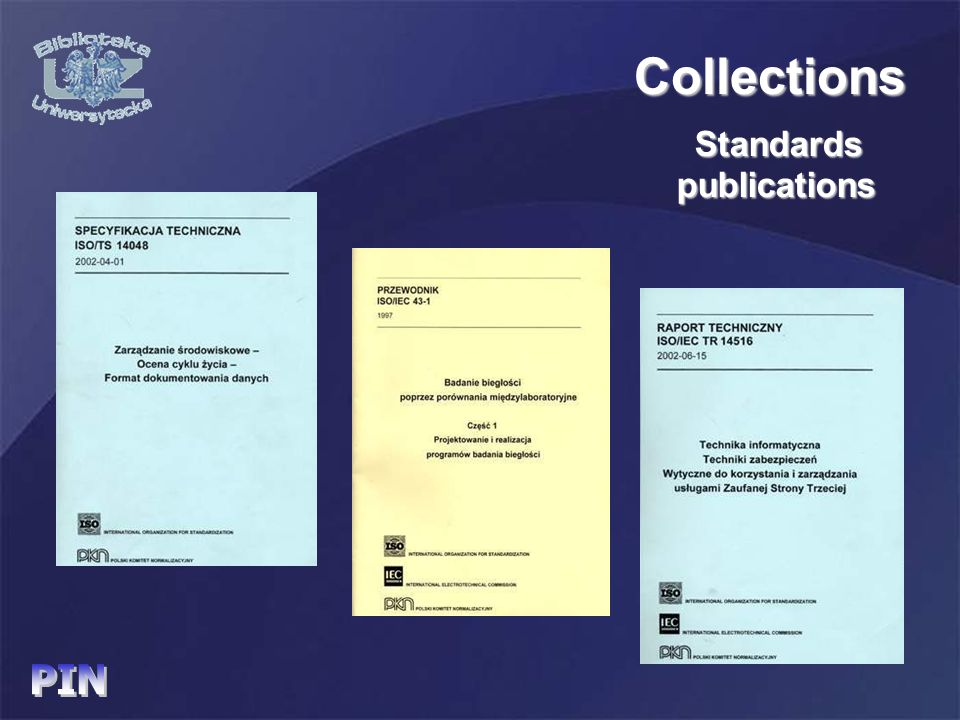 Standards Collections