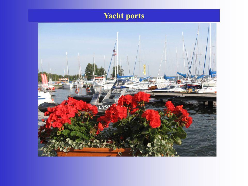 Yacht ports