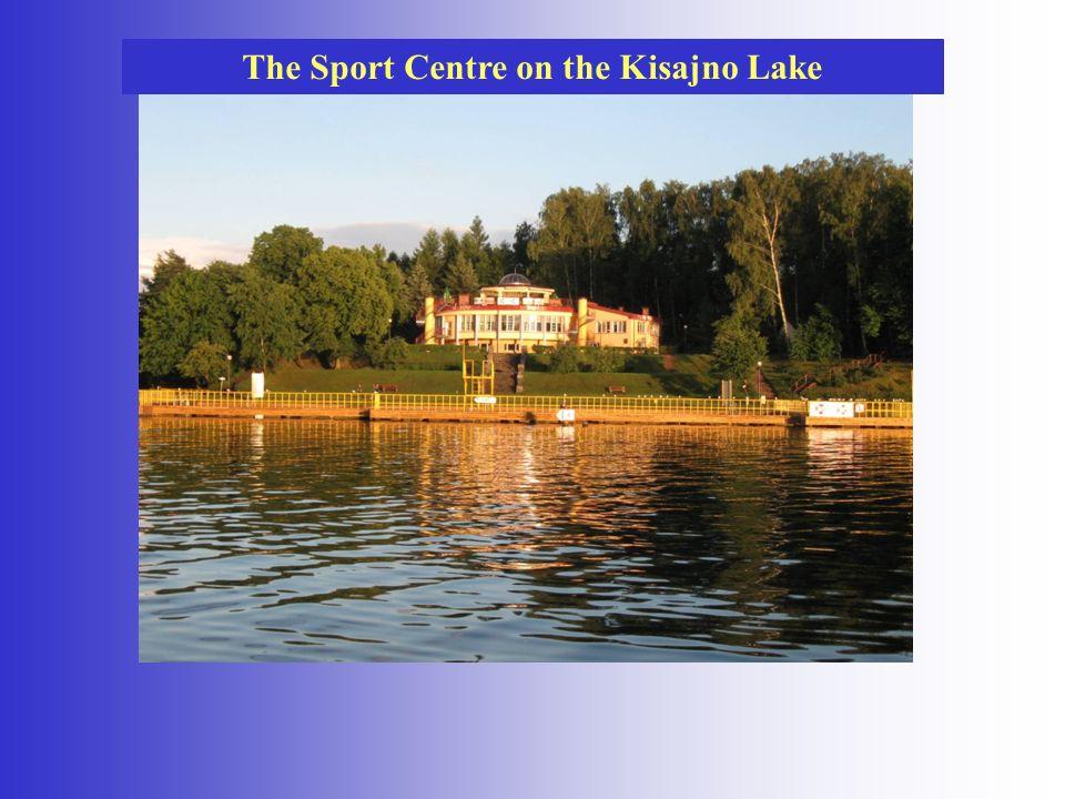 The Sport Centre on the Kisajno Lake