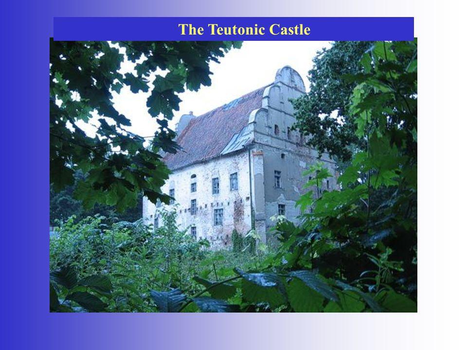 The Teutonic Castle in Ketrzyn