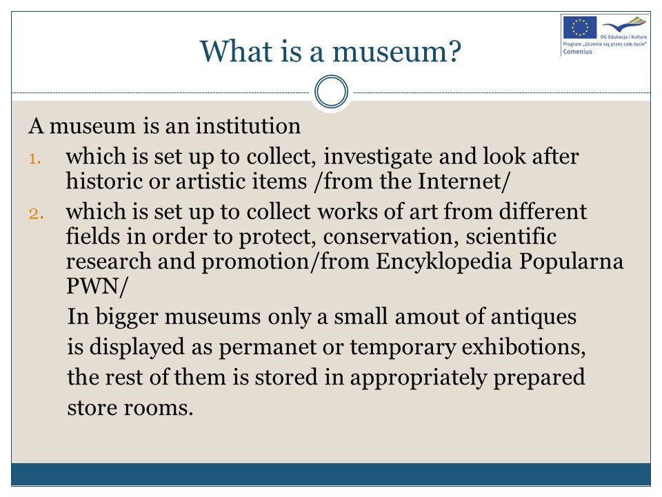 What are museums functions.