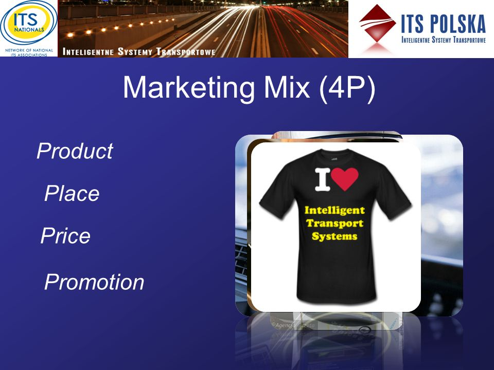 Marketing Mix (4P) Product Place Price Promotion