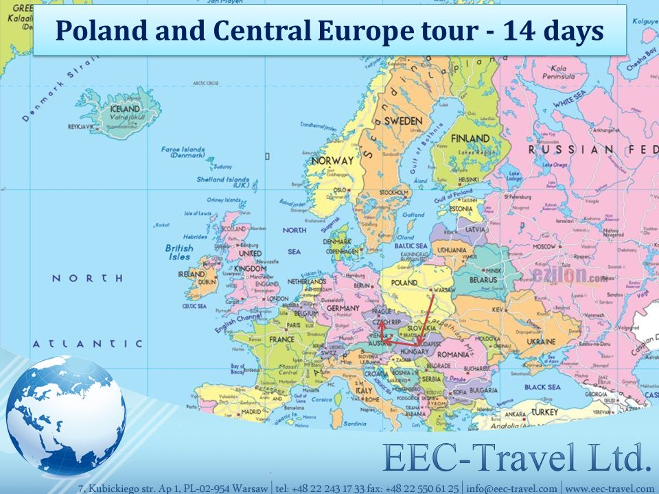 Poland and Central Europe tour - 14 days
