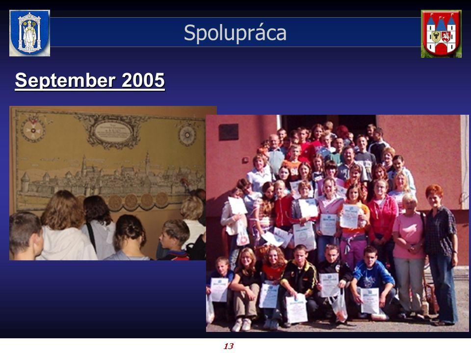 13 Spolupráca September 2005