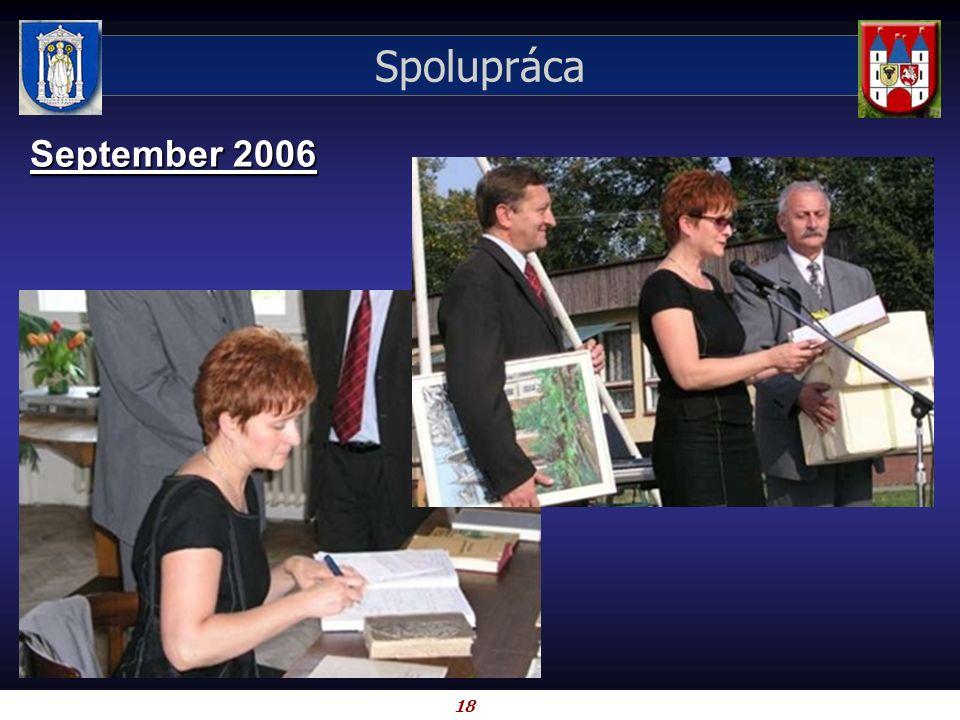 18 Spolupráca September 2006