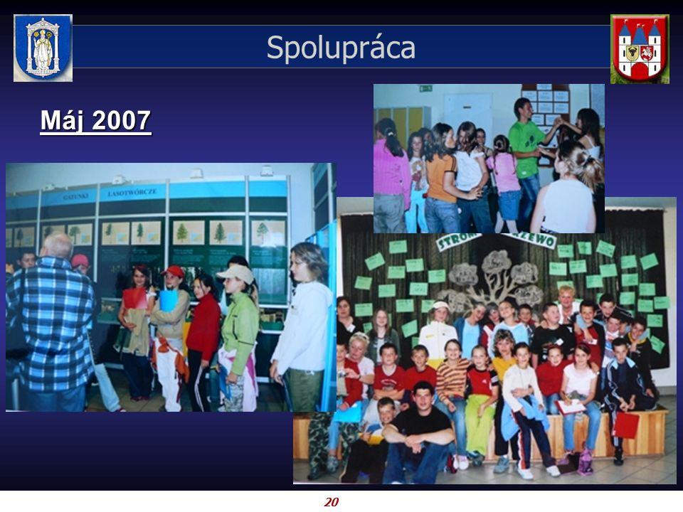 20 Spolupráca Máj 2007
