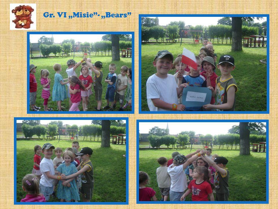 Gr. VI Misie- Bears