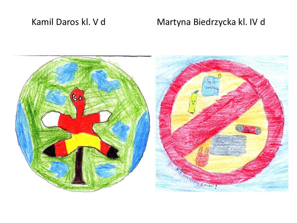 Kamil Daros kl. V d Martyna Biedrzycka kl. IV d