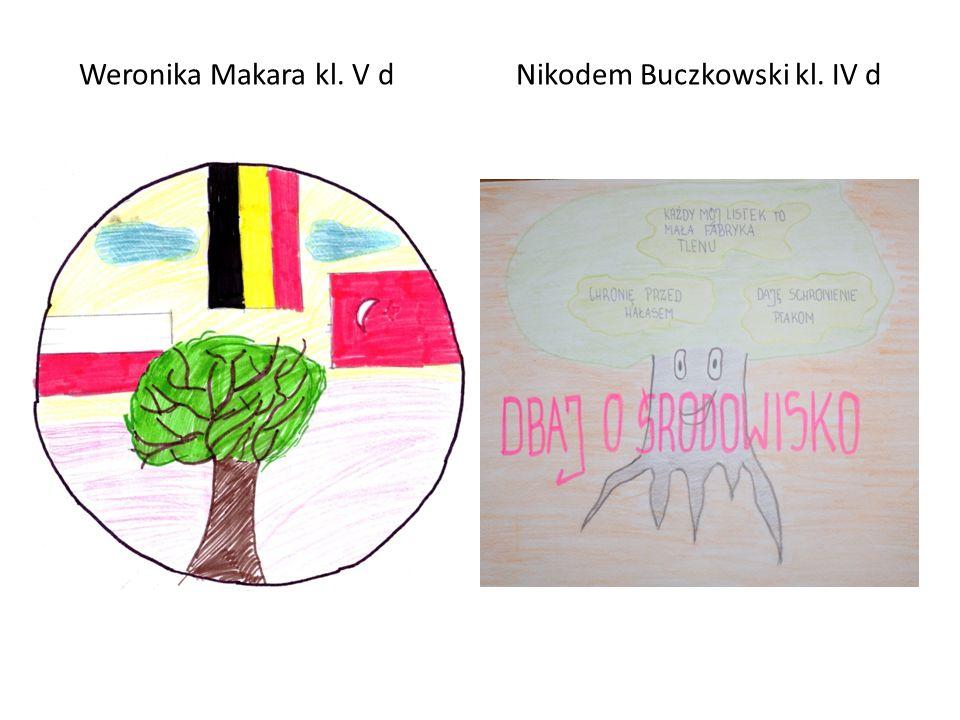 Weronika Makara kl. V d Nikodem Buczkowski kl. IV d