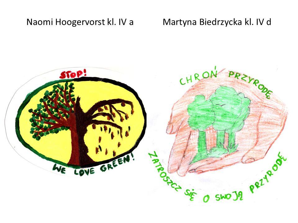 Naomi Hoogervorst kl. IV a Martyna Biedrzycka kl. IV d