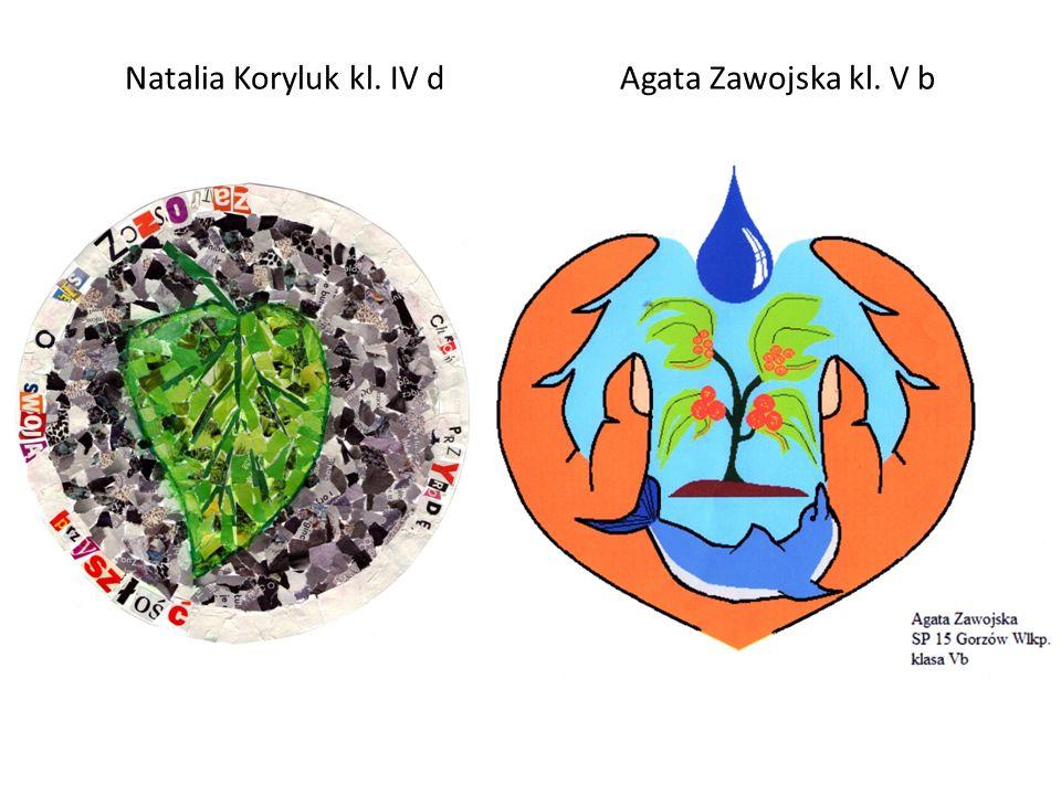 Natalia Koryluk kl. IV d Agata Zawojska kl. V b