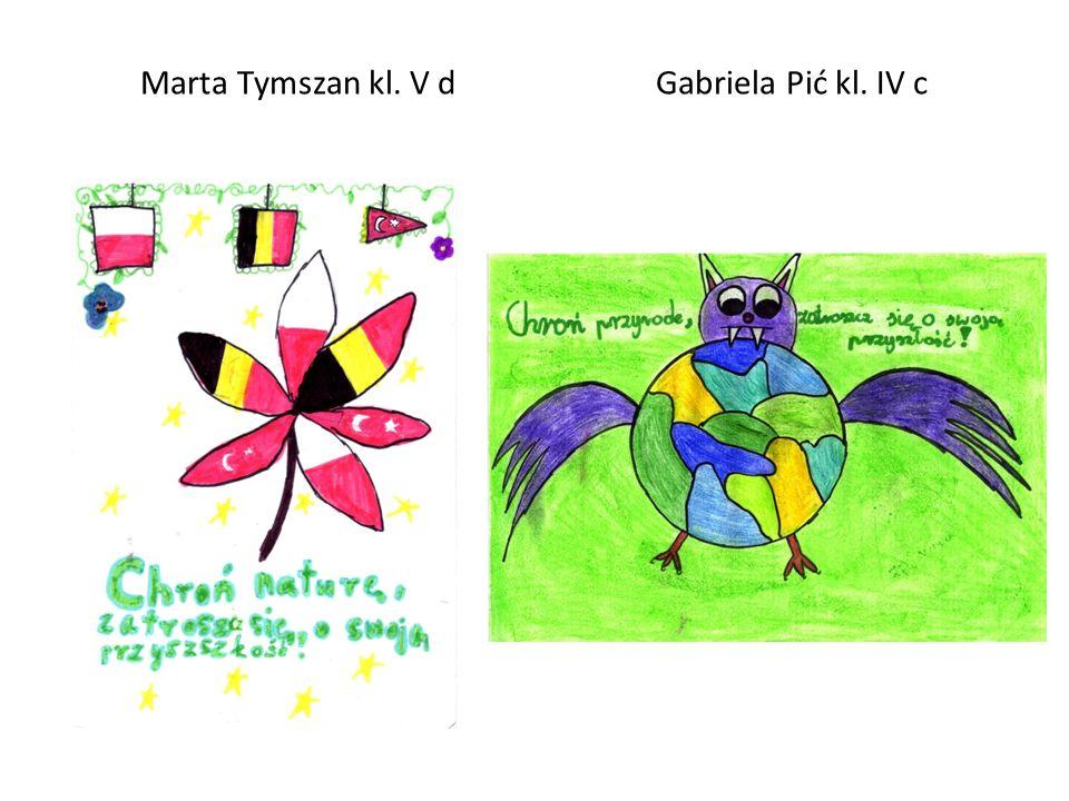 Marta Tymszan kl. V d Gabriela Pić kl. IV c