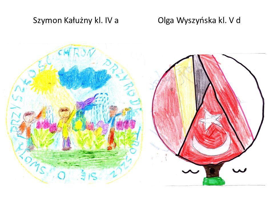 Szymon Kałużny kl. IV a Olga Wyszyńska kl. V d