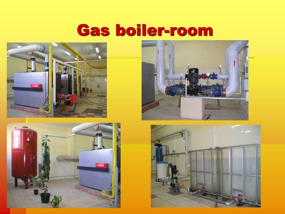 Gas boiler-room