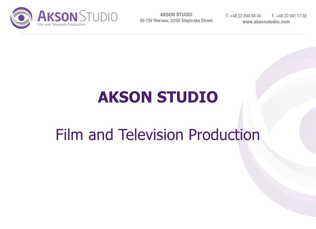 AKSON STUDIO Film and Television Production