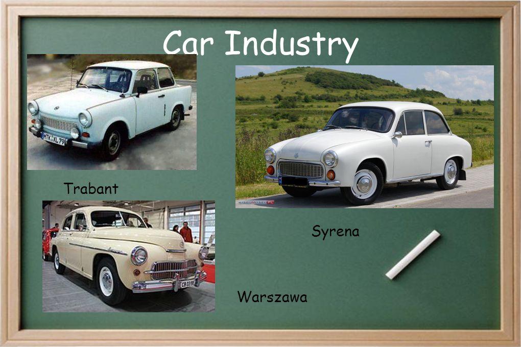 Car Industry Warszawa Trabant Syrena
