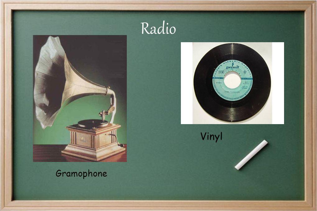 Radio Vinyl Gramophone