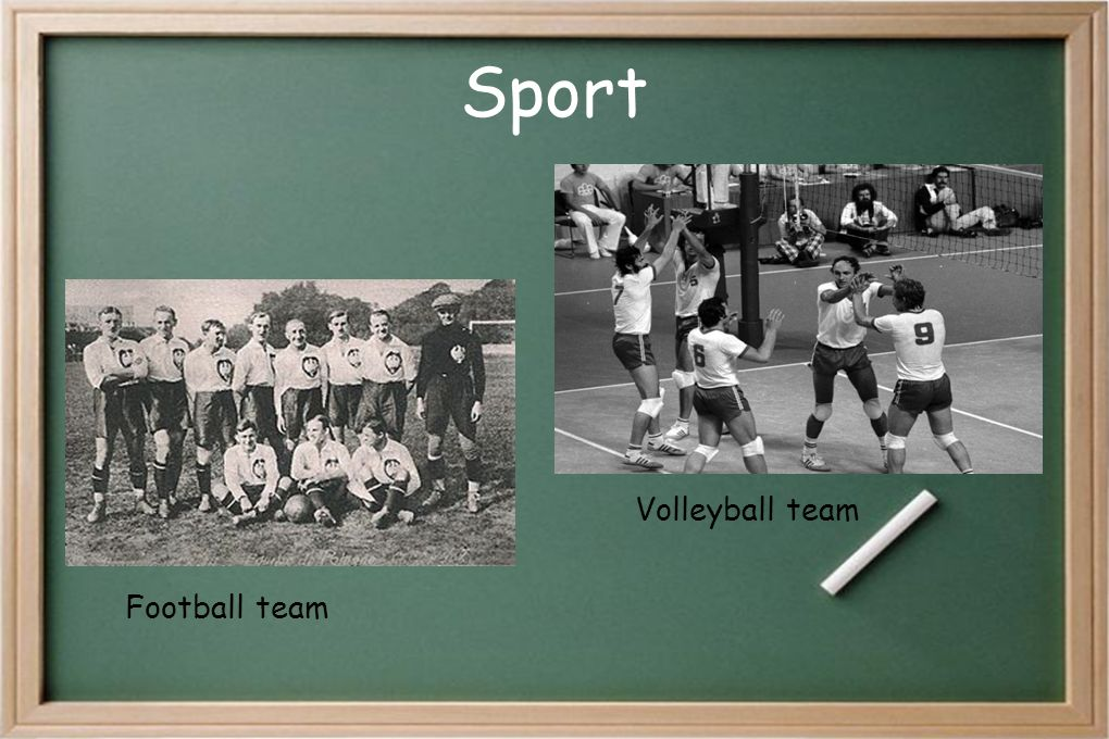 Sport Volleyball team Football team