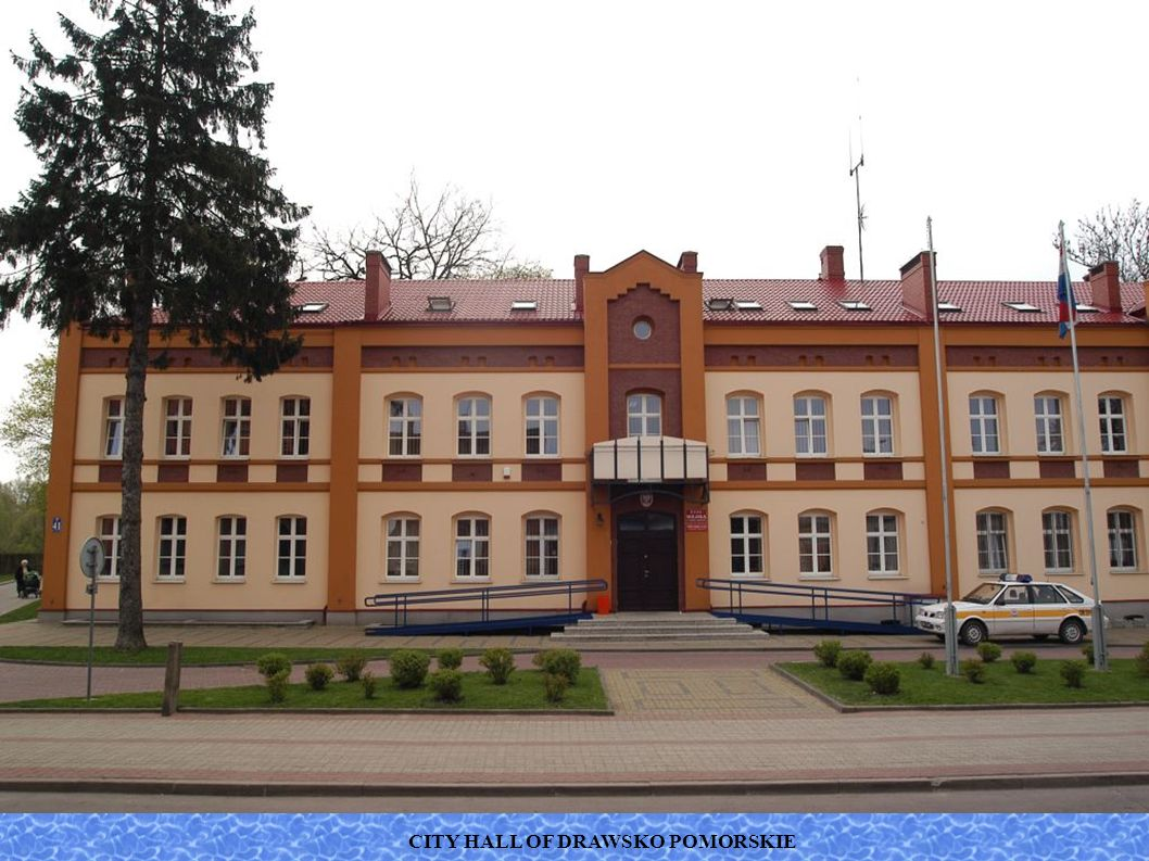 CITY HALL OF DRAWSKO POMORSKIE