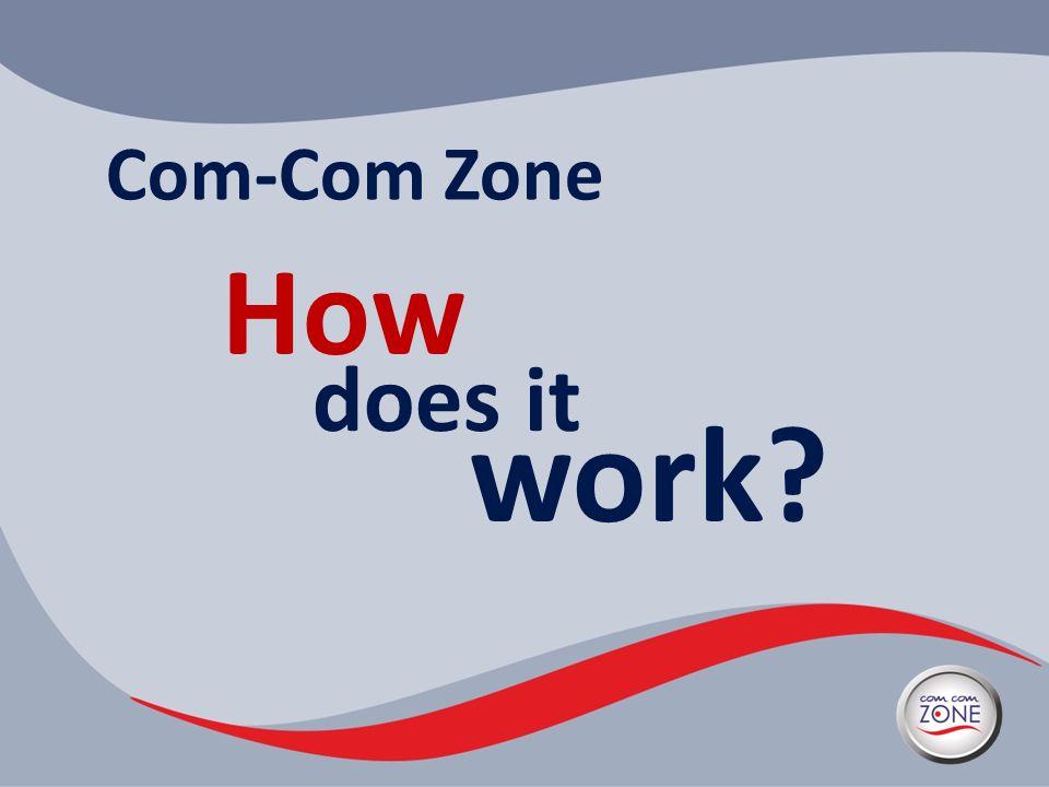 Com-Com Zone How does it work?