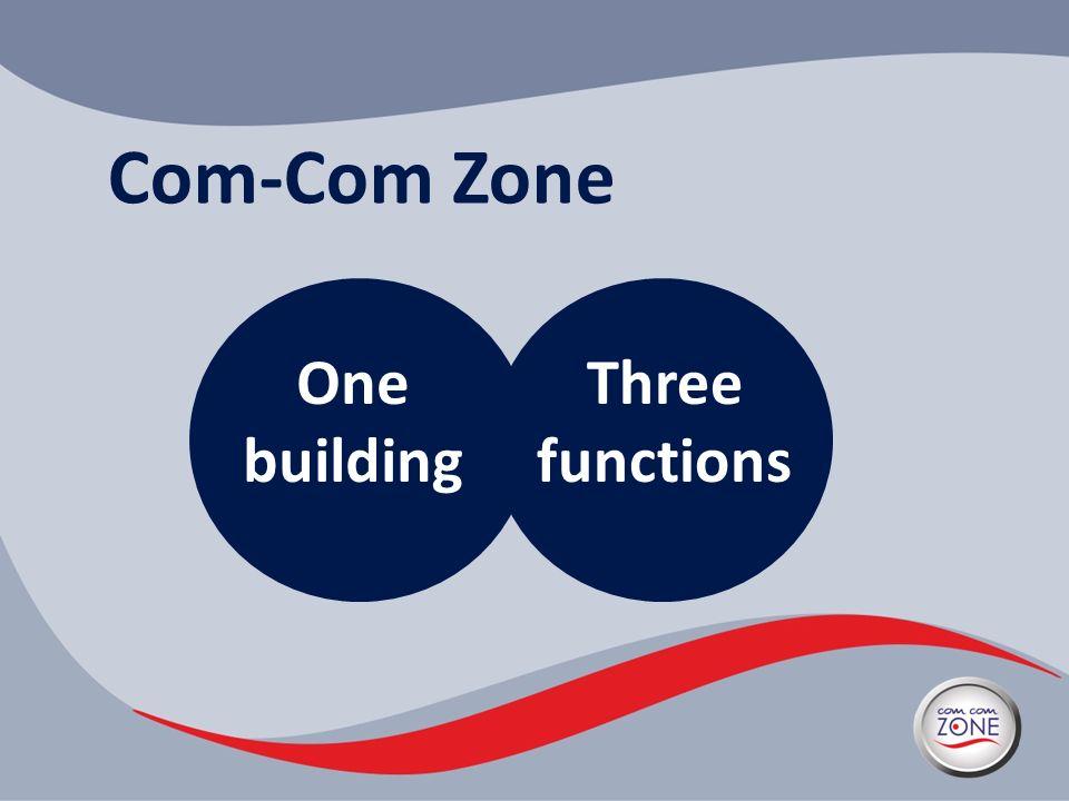 Com-Com Zone One building Three functions