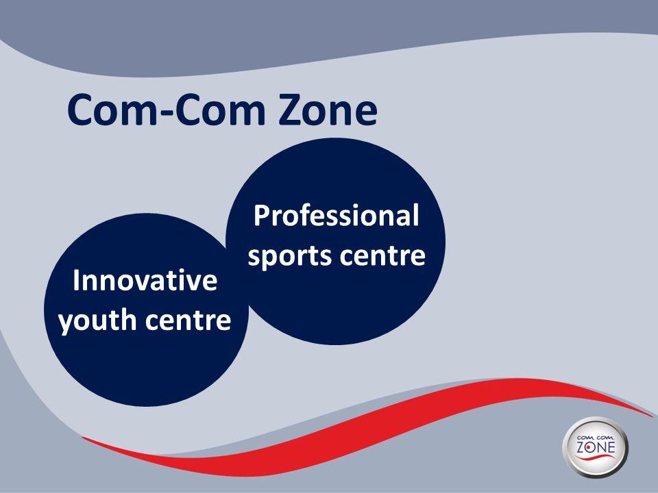 Com-Com Zone Innovative youth centre Professional sports centre