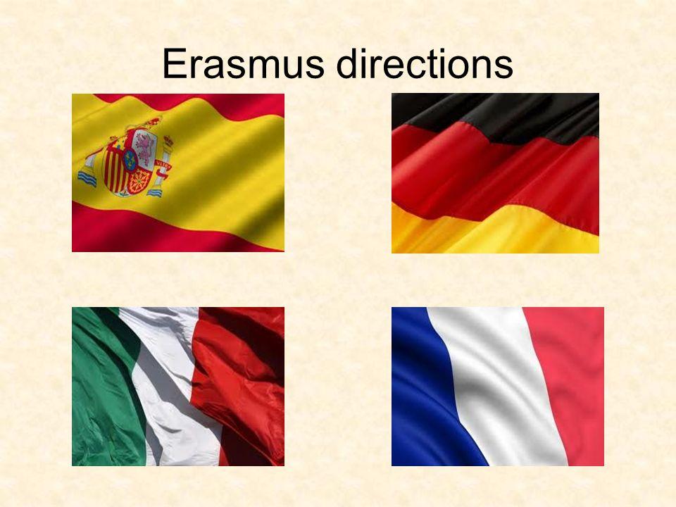 Erasmus directions