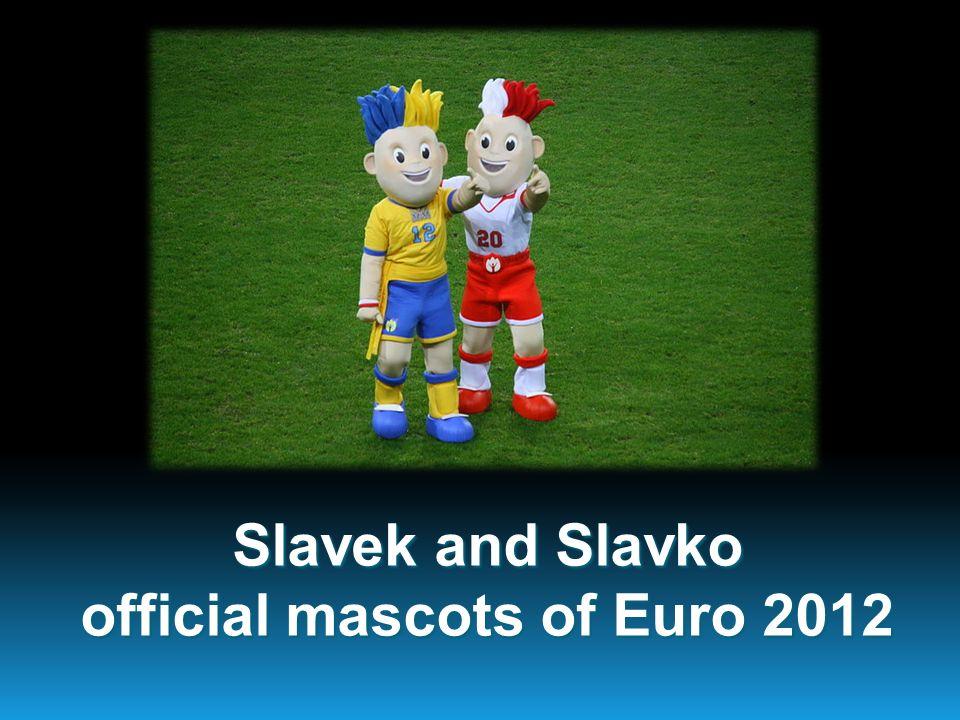 Slavek and Slavko official mascots of Euro 2012