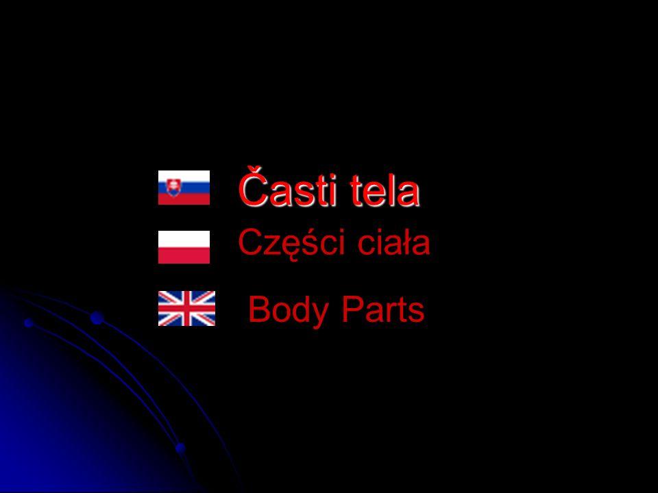 Časti tela Części ciała Body Parts