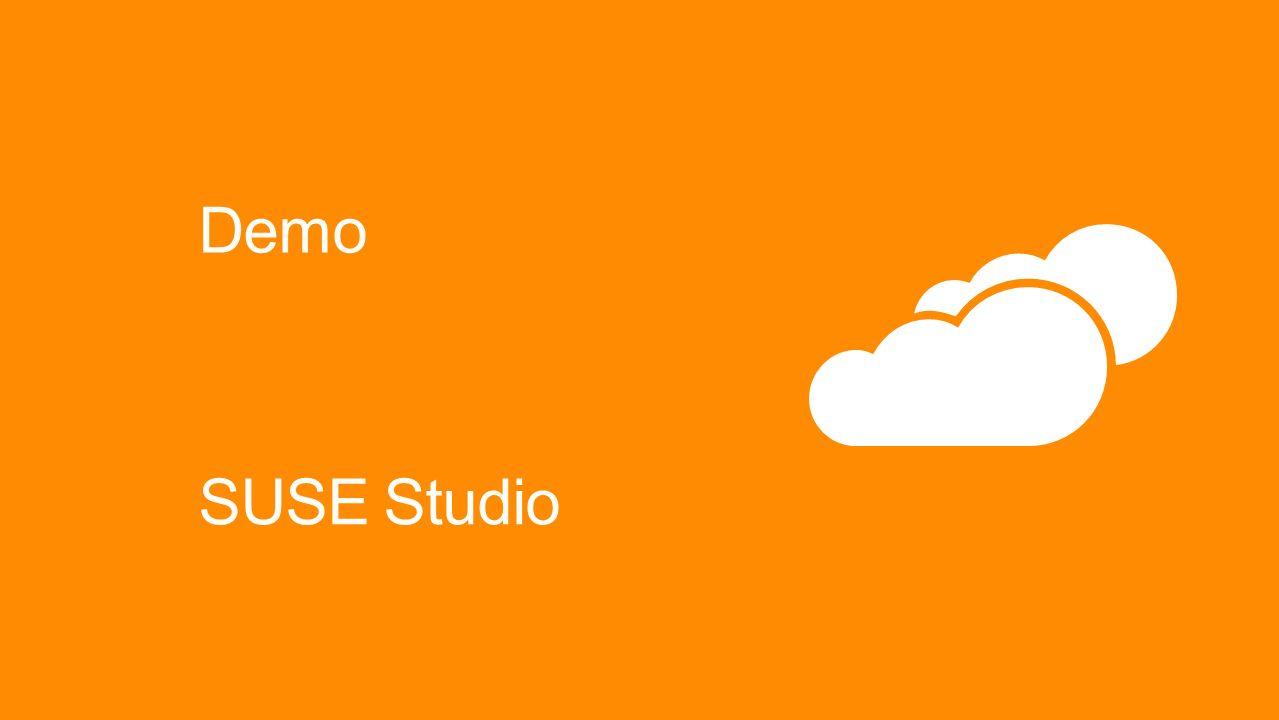 Demo SUSE Studio