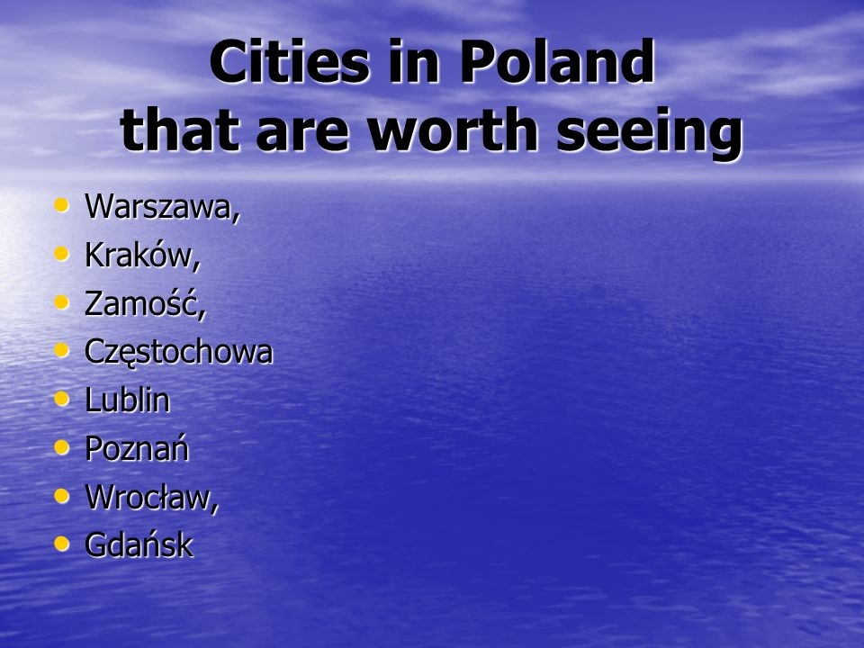 Poland has a population of over 38 million people. Population