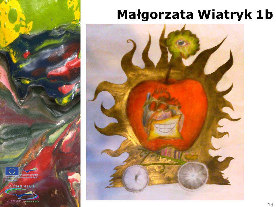 Małgorzata Wiatryk 1b 14