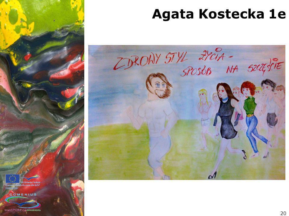 Agata Kostecka 1e 20