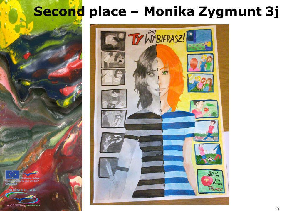 Second place – Monika Zygmunt 3j 5
