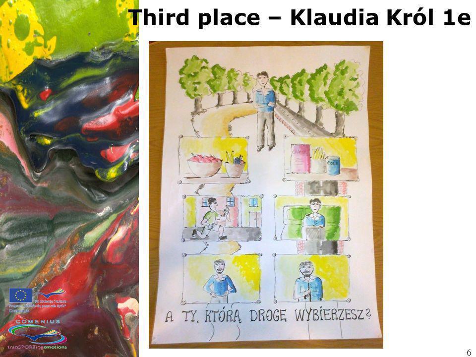 Third place – Klaudia Król 1e 6
