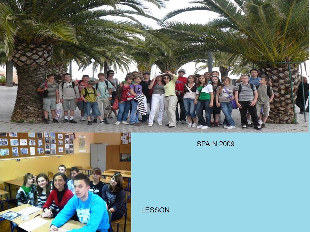SPAIN 2009 LESSON