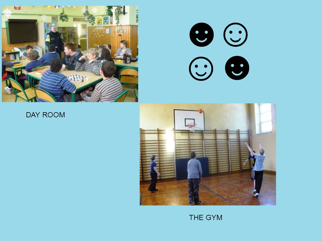 THE GYM DAY ROOM