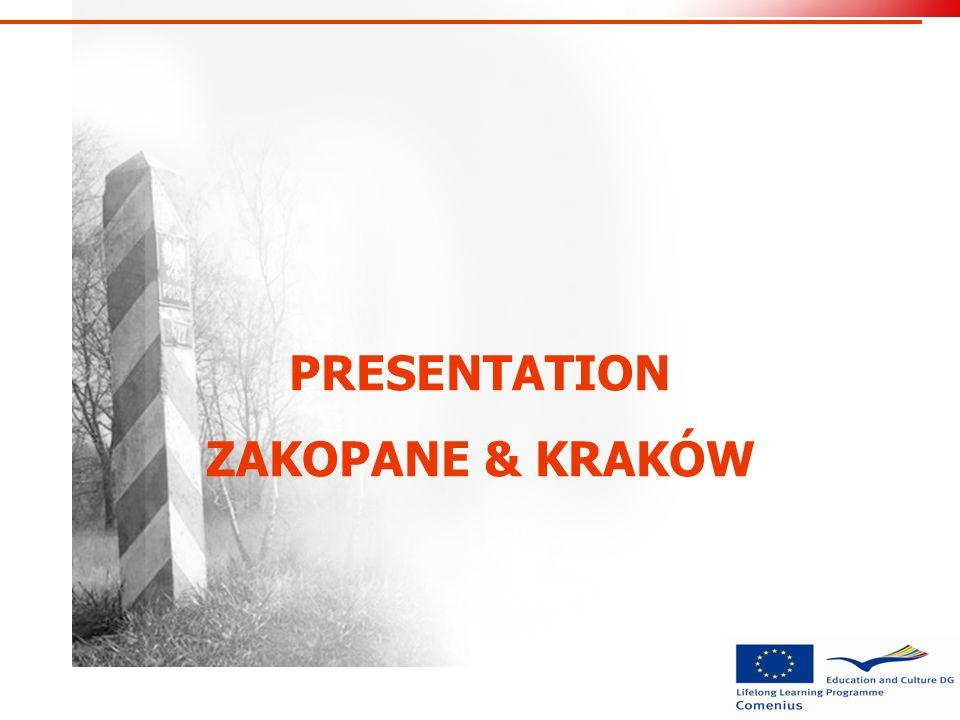 PRESENTATION ZAKOPANE & KRAKÓW