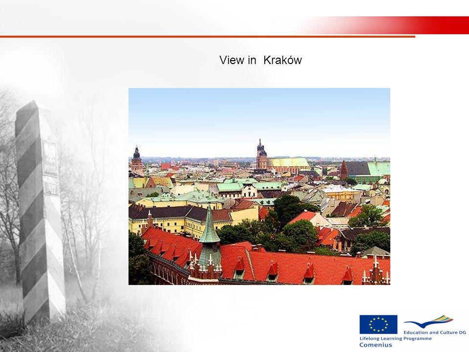 View in Kraków