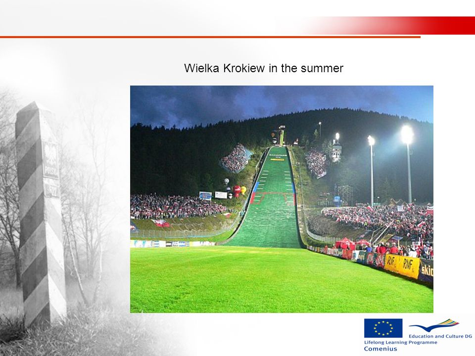 Wielka Krokiew in the summer