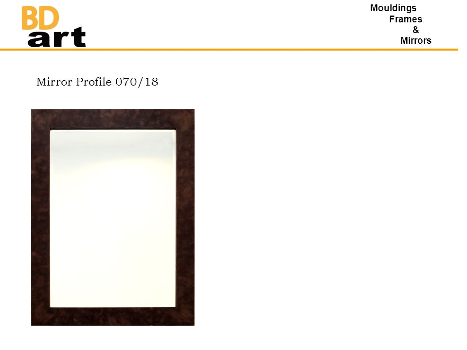Mouldings Frames & Mirrors Mirror Profile 070/18