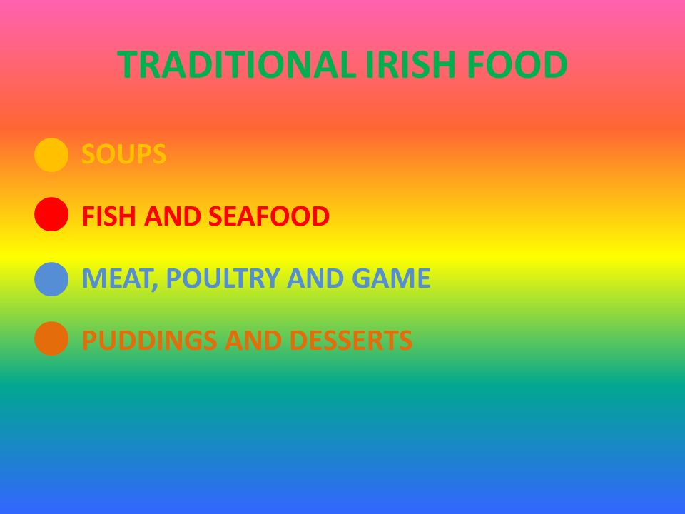 SOUPS FISH AND SEAFOOD MEAT, POULTRY AND GAME PUDDINGS AND DESSERTS