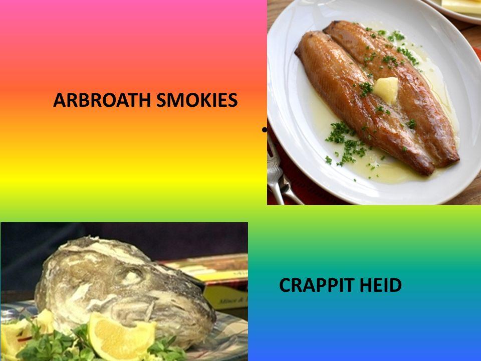 ARBROATH SMOKIES CRAPPIT HEID