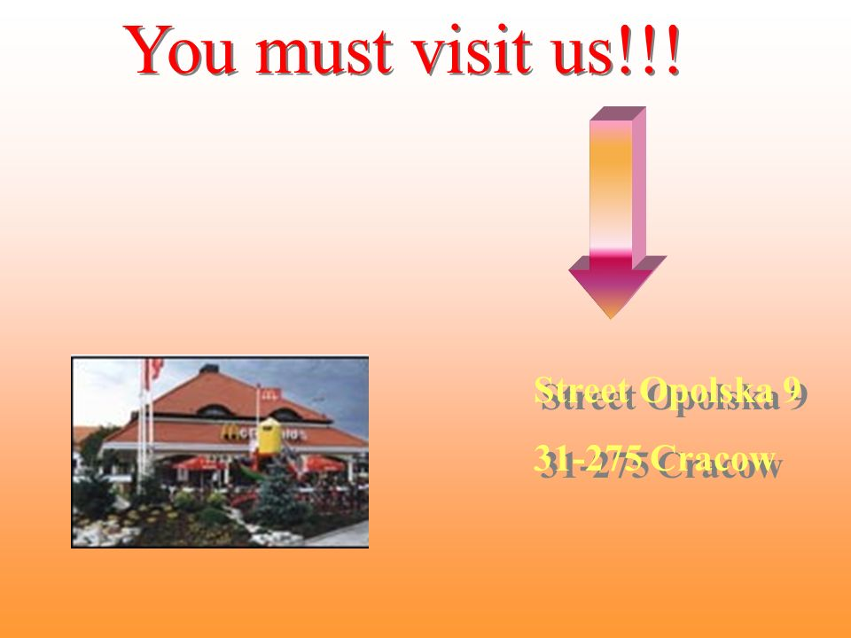 You must visit us!!. You must visit us!!.