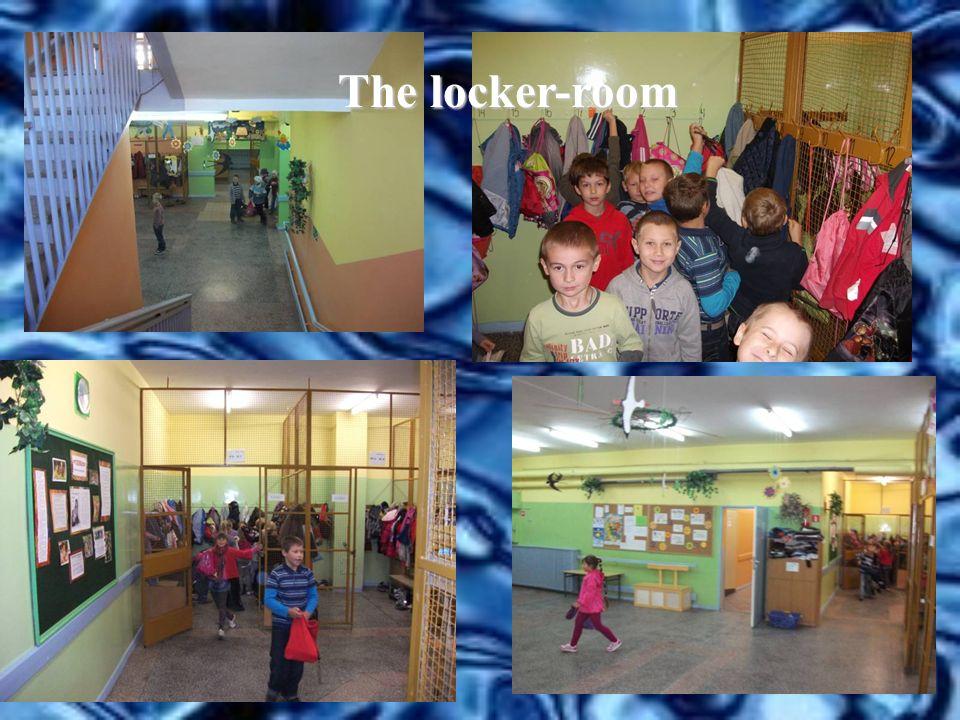 The locker-room