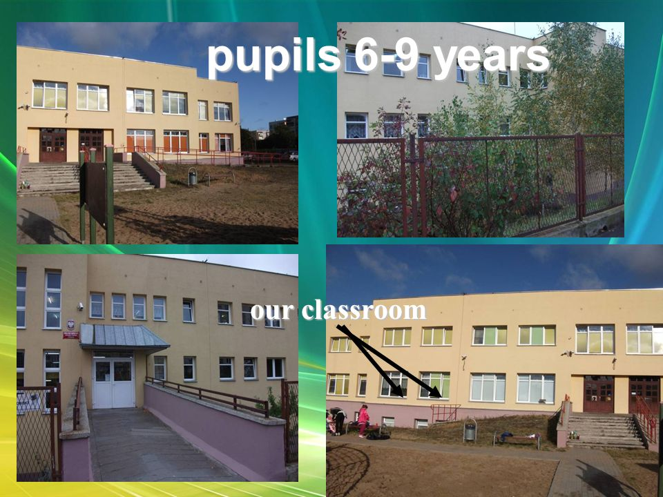 our classroom pupils 6-9 years
