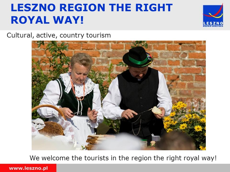 LESZNO REGION THE RIGHT ROYAL WAY.