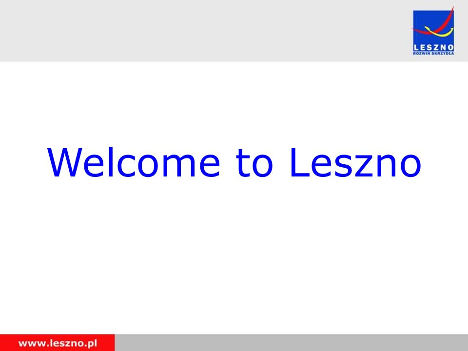 Welcome to Leszno